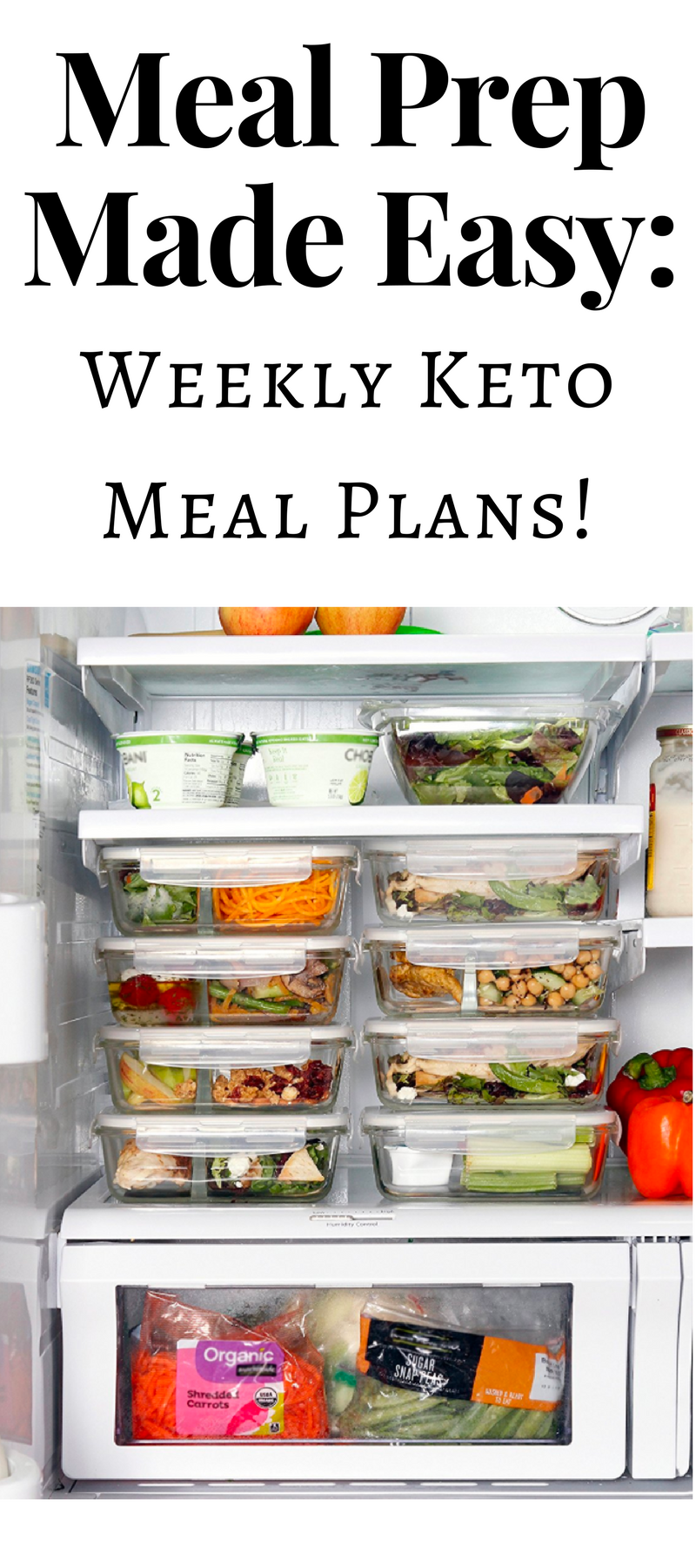 Meal prep made easy weekly low carb keto meal plans for Plan snack cuisine