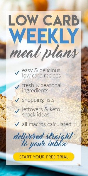 Meal Prep Made Easy: Weekly Low Carb Keto Meal Plans