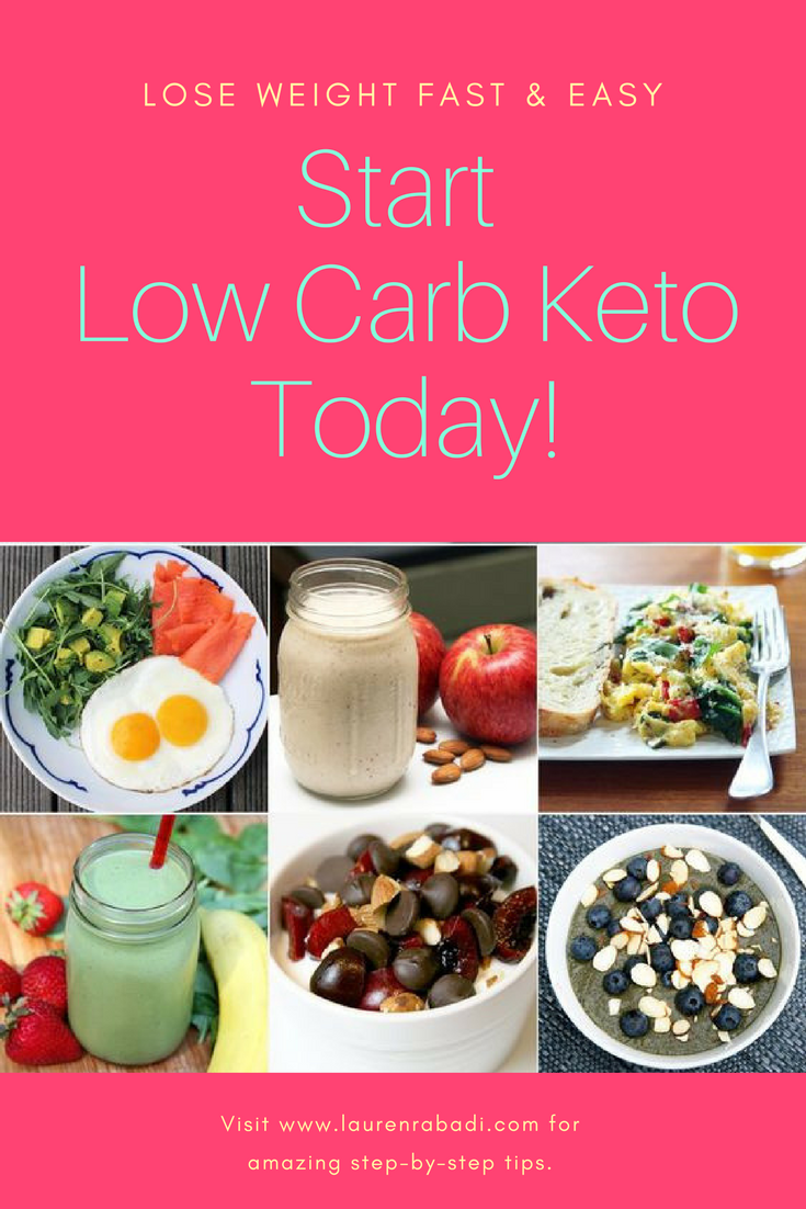 The Easiest Way to Start a Low Carb Keto Diet!