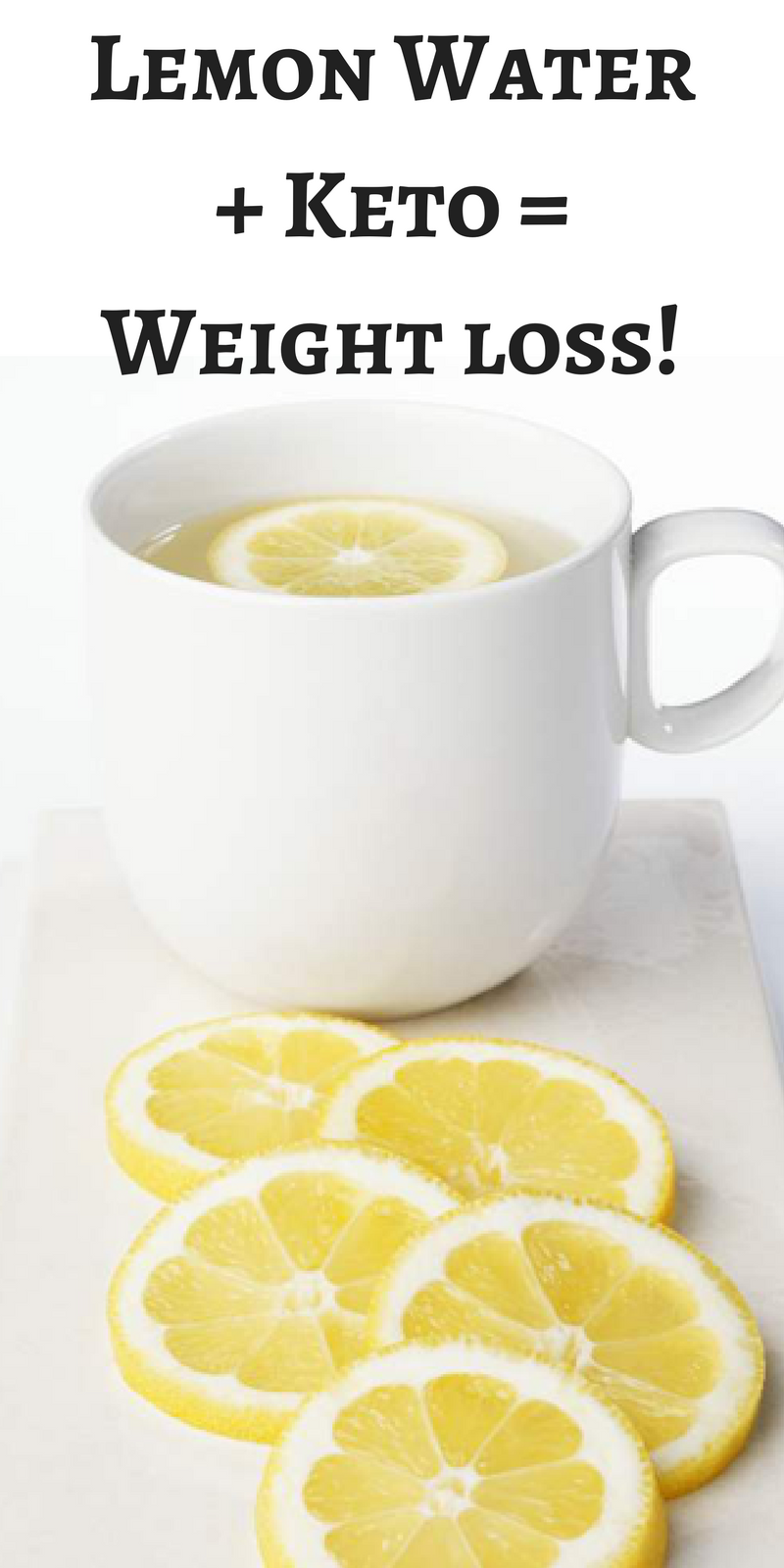 Lose More Weight By Drinking Lemon Water On A Keto Diet ...