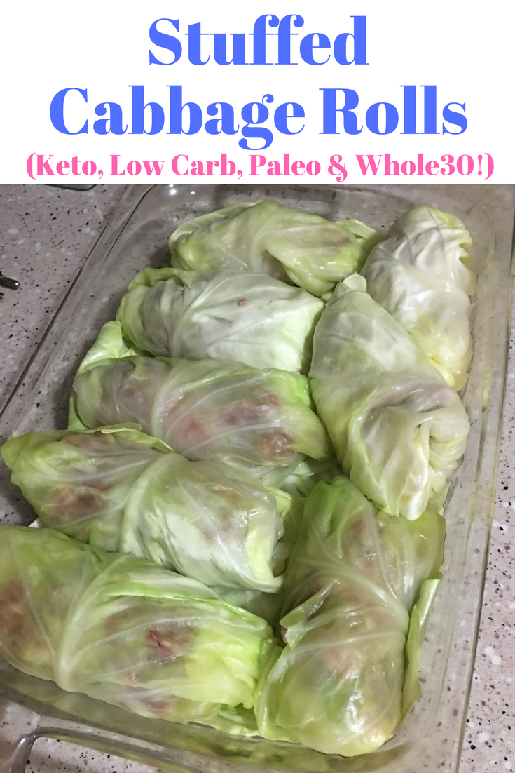 Stuffed Cabbage Rolls Keto Low Carb Paleo Amp Whole30
